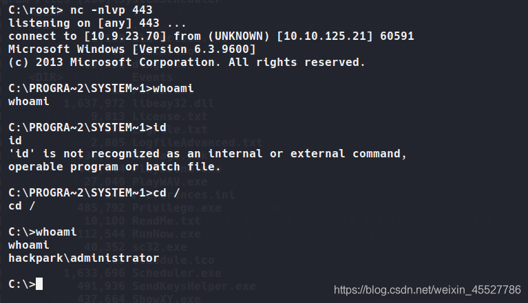 Tryhackme - hackpark (考点:hydra & BlogEngine.NET 3.3.6 & autologon登录信息提权 & abnormal service提权)插图(14)