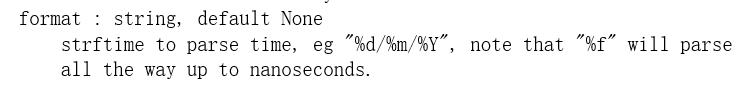 format的参数说明