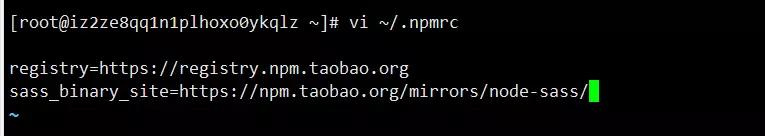 解决 npm 安装 node-sass 速度慢的问题