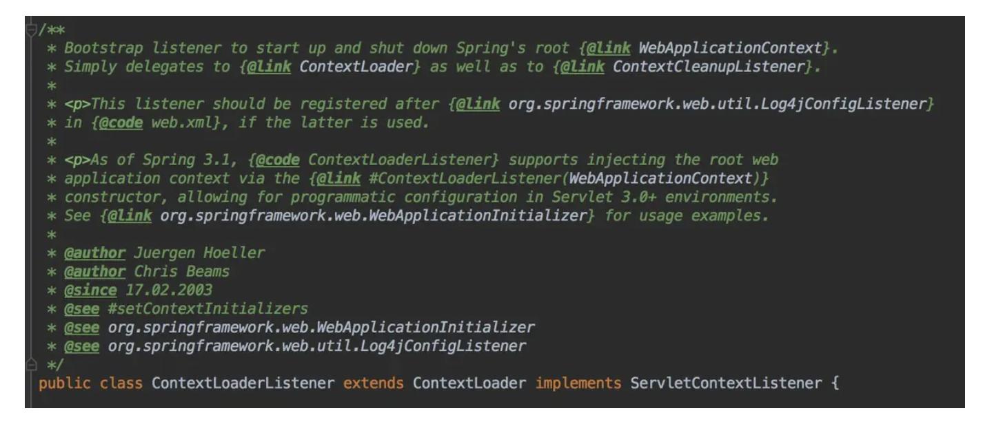 context-loader-listener