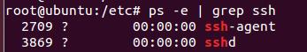 查看ssh服务是否开启