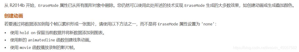 网址:https://ww2.mathworks.cn/help/matlab/graphics_transition/how-do-i-replace-the-erasemode-property.html