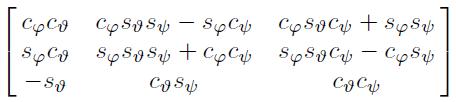 无人机运动学控制中的坐标系,及惯性坐标系与机体坐标系之间的矩阵转换 欧拉角插图(79)