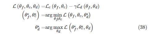 Architecture of domain-adversarial neural network (DANN) [58].