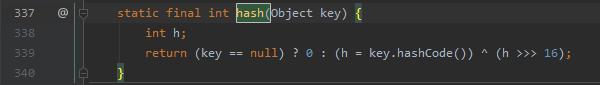 图片截图自JDK1.8.0 211 java.util.HashMap.java 337行—340行