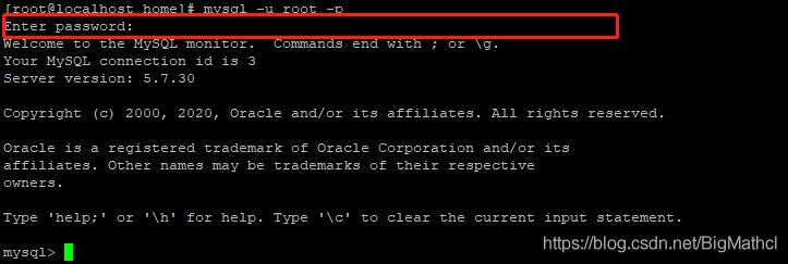 服务器部署之mysql的安装(yum)BigMathcl的博客-服务器部署之mysql的安装(yum)