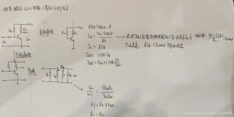 阻容耦合放大电路分析
