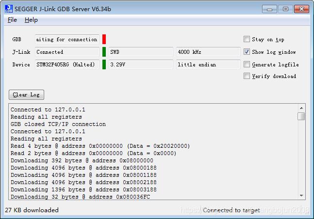 Jlink GDB Server