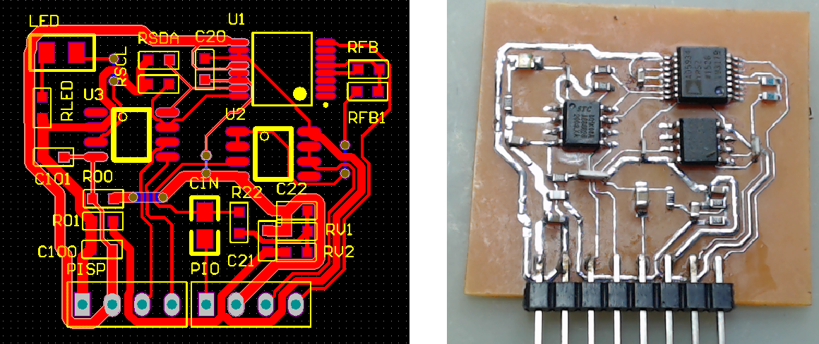 ▲ 实验电路板PCB