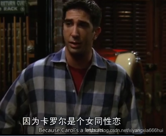 Ross发现Carol是同性恋