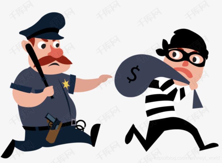 跟踪抓小偷