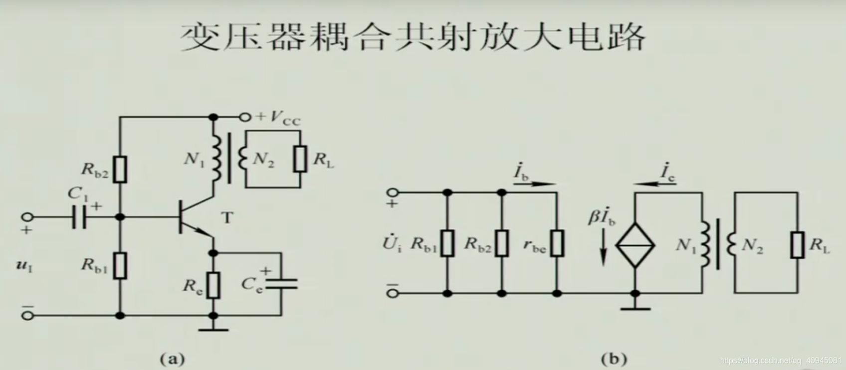 变压器耦合