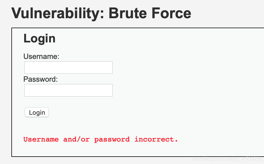网络安全入门之 Burp Suite 暴力破解 DVWA Brute Force Low