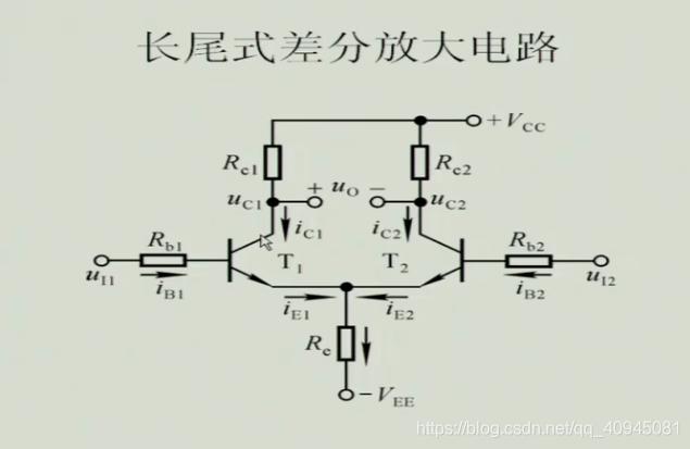 长尾式差分放大电路