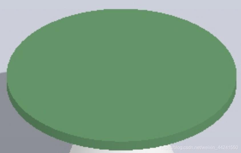 椭圆形棋盘的上端短线