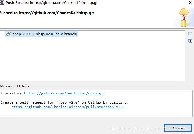 Eclipse整合Git发布分支到远程仓库_11
