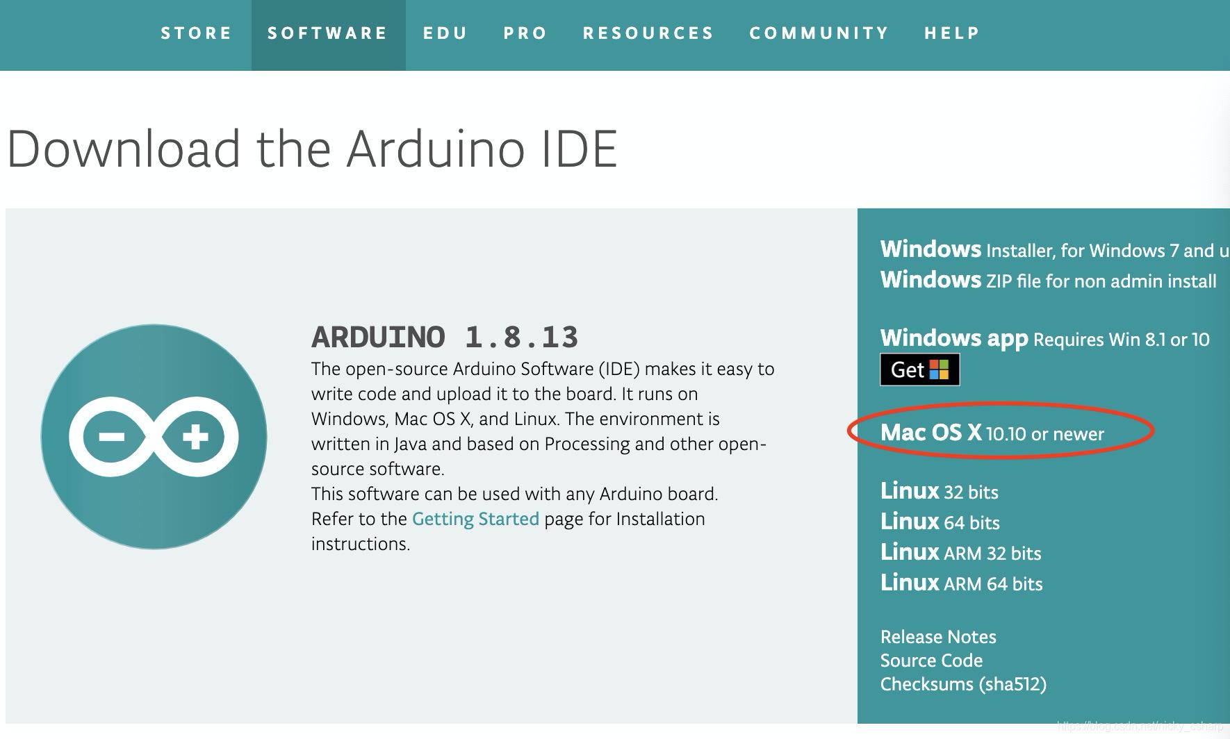Arduino官方链接