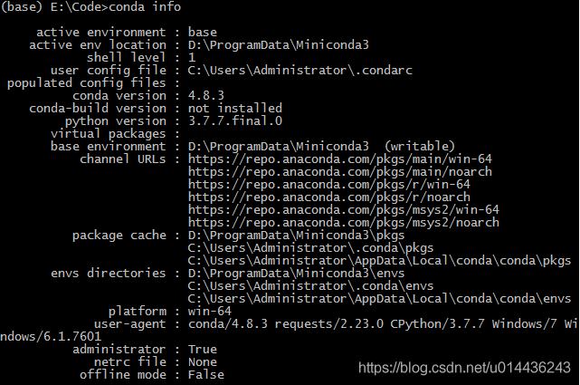 Python 64 env