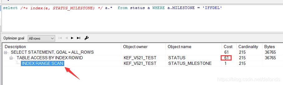 强制优化器走索引 STATUS_MILESTONE 并分析其执行计划.png