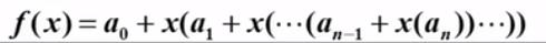 每项提出一个x