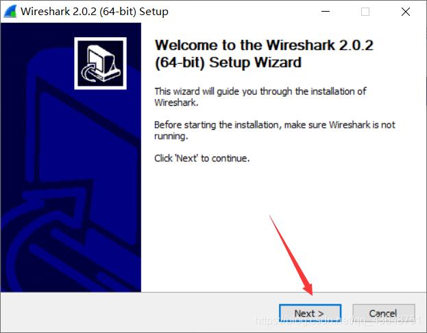 运行exe安装文件之后点击next