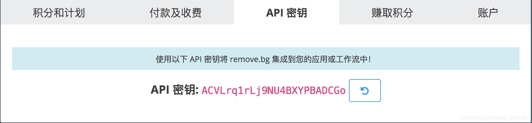 API密钥