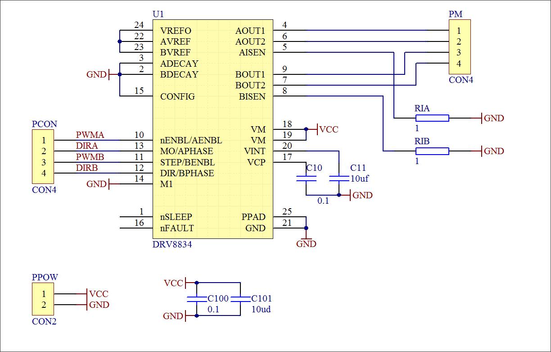 ▲ 实验电路板原理图