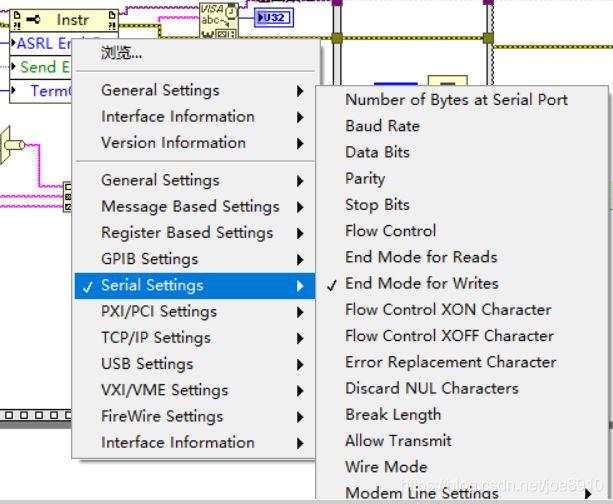 创建EndMode for write属性节点就会自动在指令末尾添加后缀