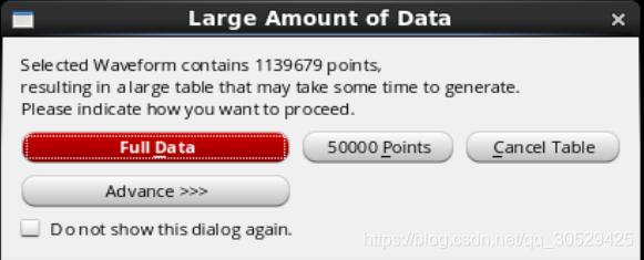 这里提醒数据点过多可作取舍