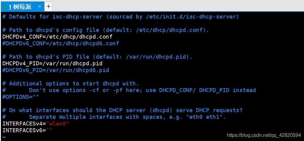 sudo service isc-dhcp-server start