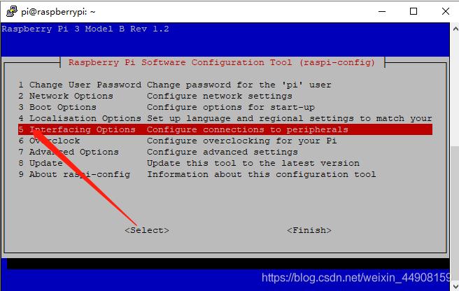 3、树莓派使用网线连接路由器获取网络