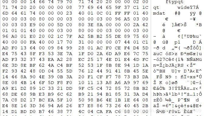 大疆无人机视频数据碎片重组