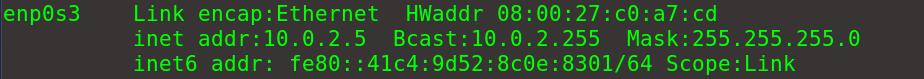Attacker 地址信息