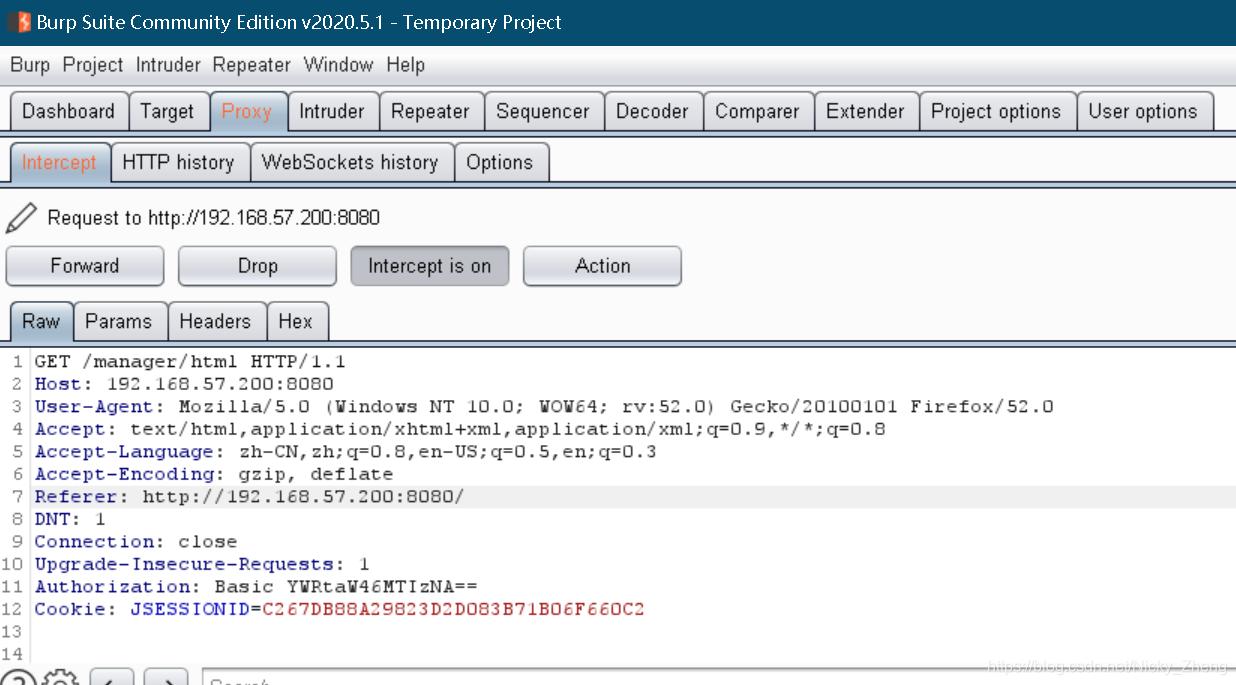 burp截断的密码为base64编码