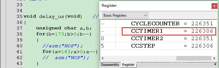 2层for循环的指令总数