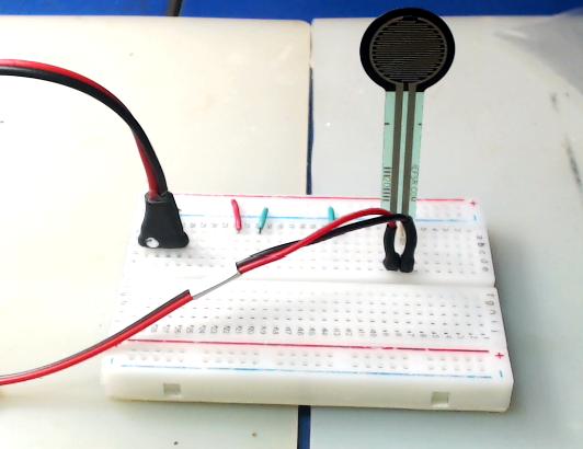 ▲ FSR402测量电路