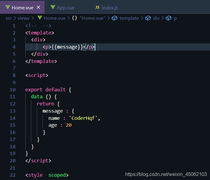 Vue.js教程-Vue基本指令CoderHqf的博客-