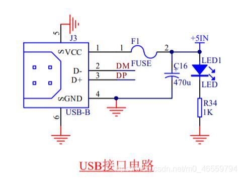 USB接口电路