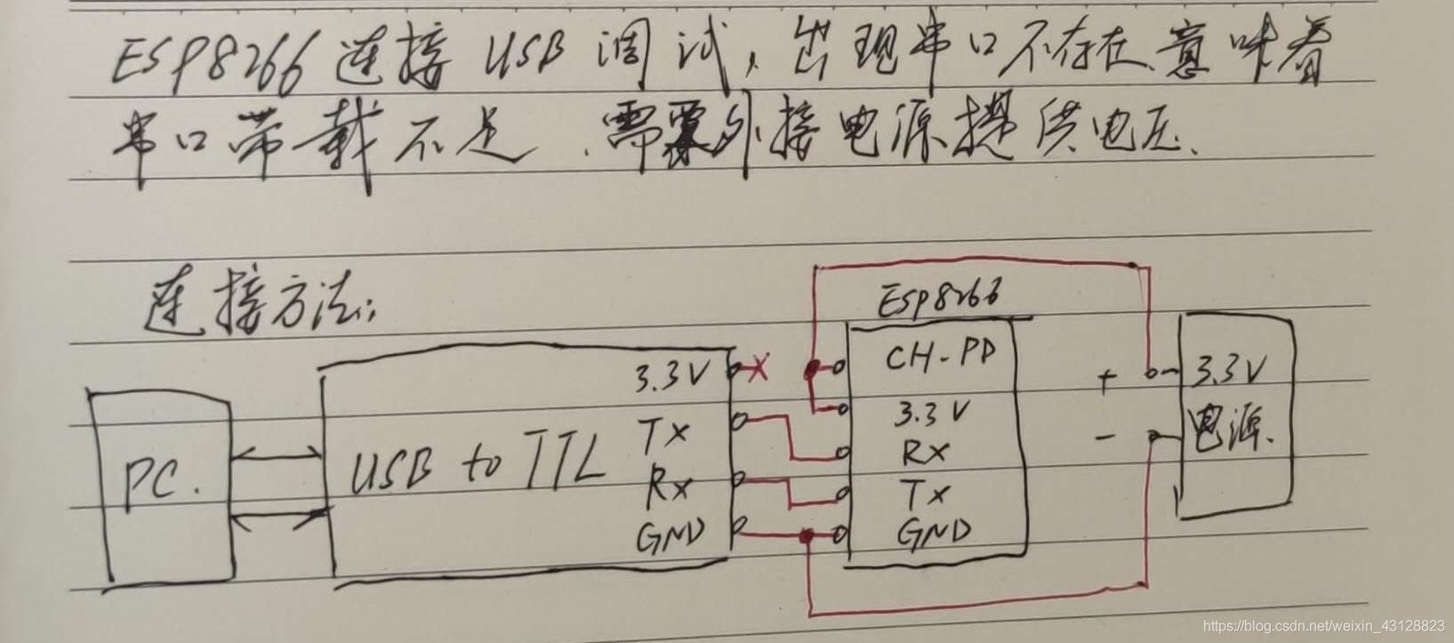 外接电源连接方法