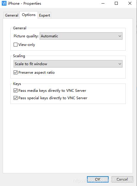 vncviewer设置