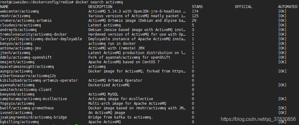 activemq搜索结果