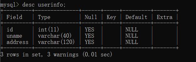 MySQL学习之基础篇(2)——常用命令2