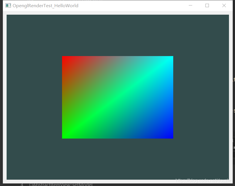 Qt与OpenGL编程 - IBO与线框模式