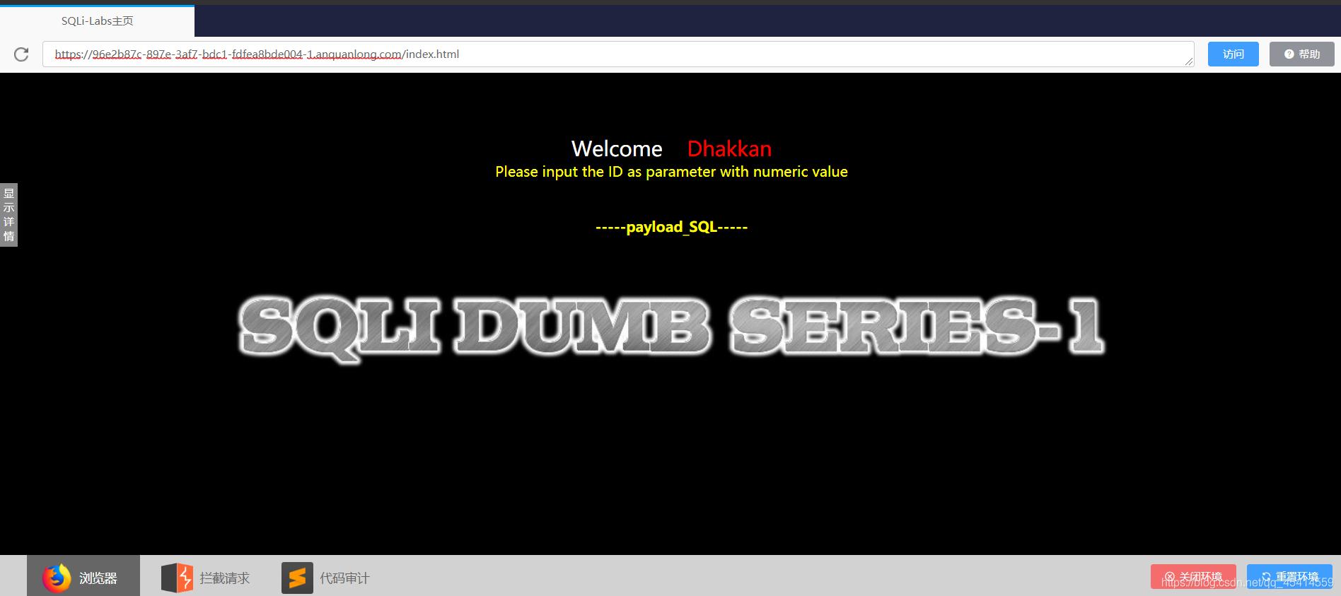 网络安全初入茅庐 --- 简易 sqlmap 制作一名新生程序员的日常-