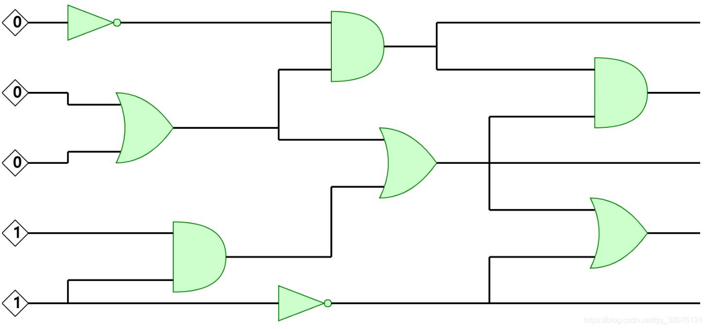 图5 一个电路