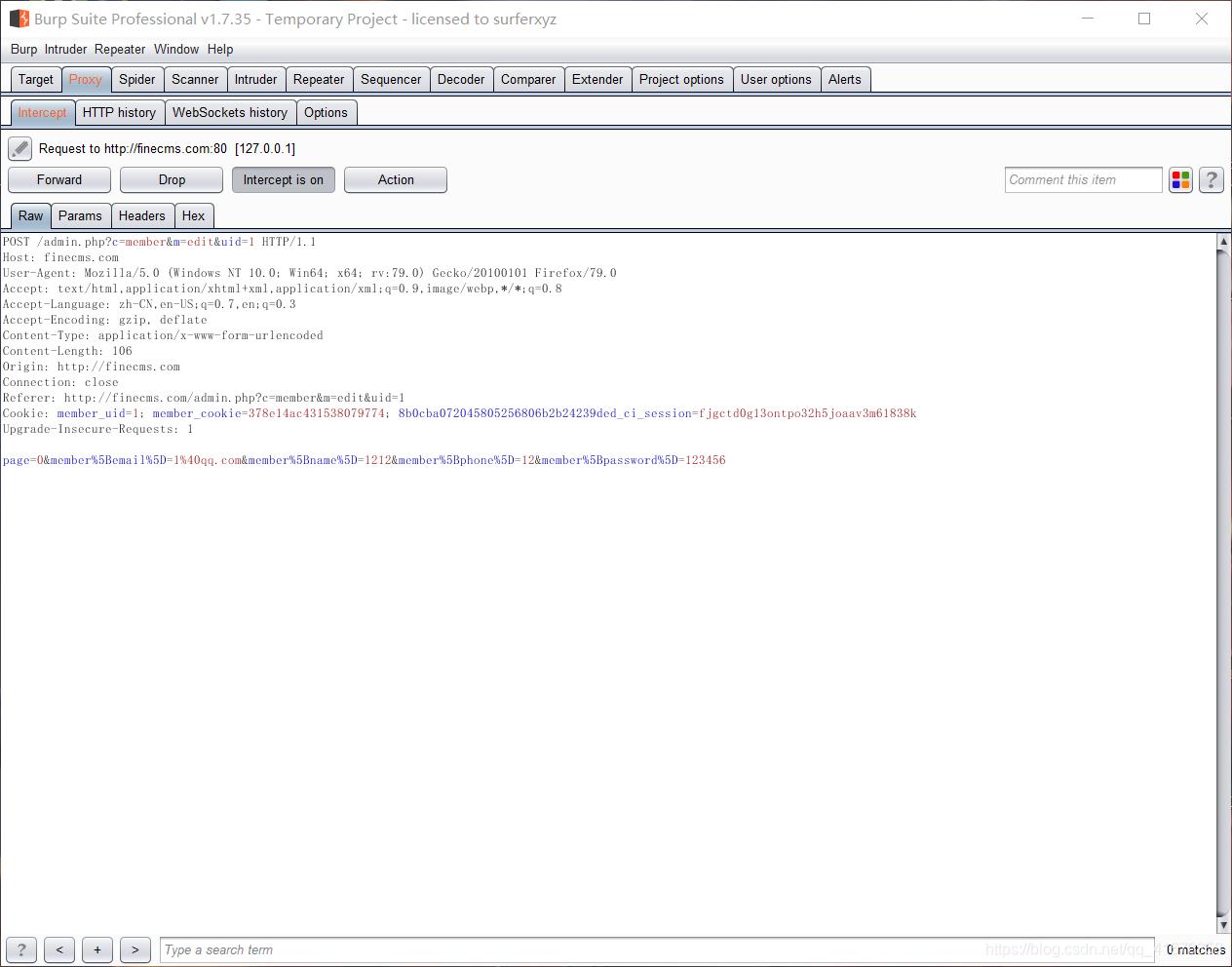 CSRF跨站请求伪造——原理及复现-行云博客
