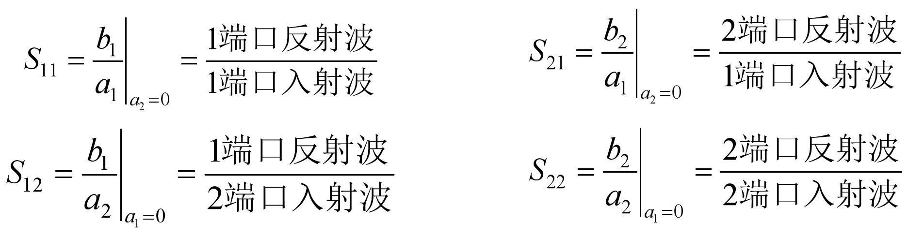 S参数定义1