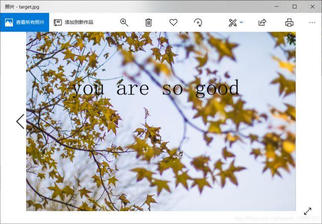 python在图片中添加文字学习文档插图(3)